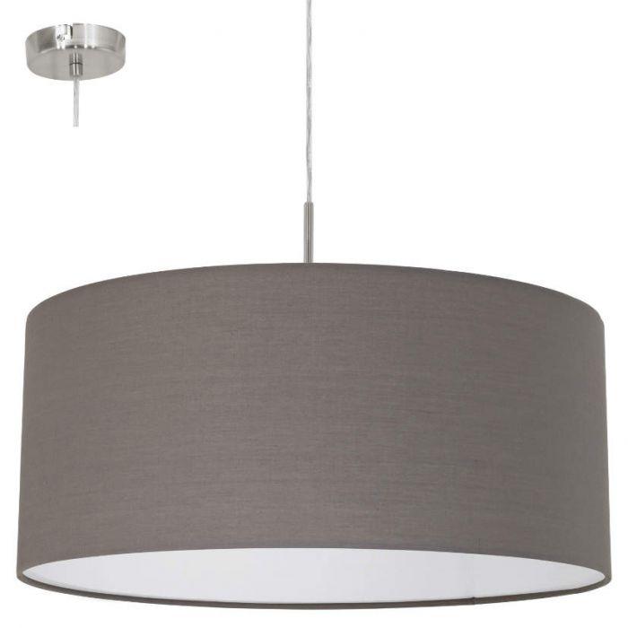 Hanglamp Eglo Pasteri 31578 53cm antraciet