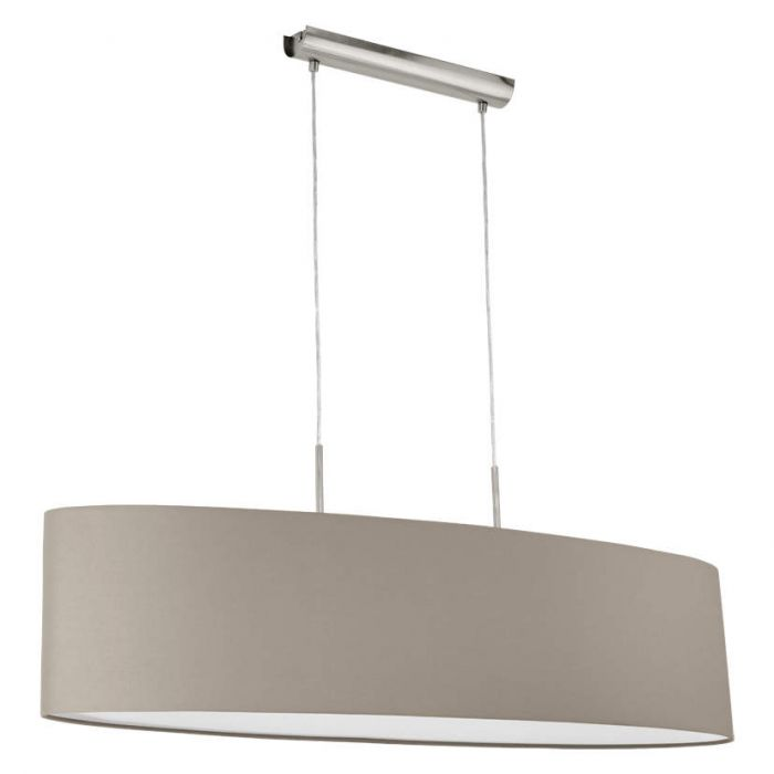 Hanglamp Eglo Pasteri 31585 100cm taupe