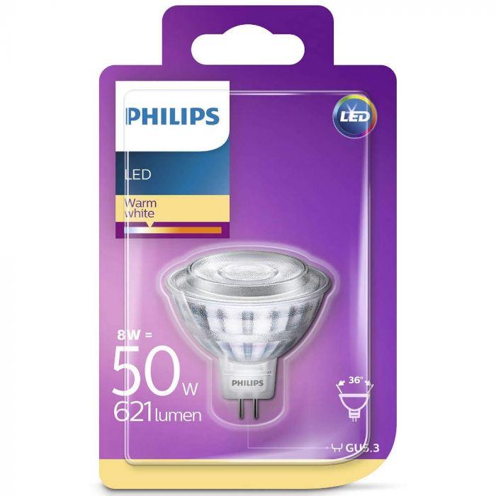 GU5.3 LED spot Philips 8,0w (50w) 2700k