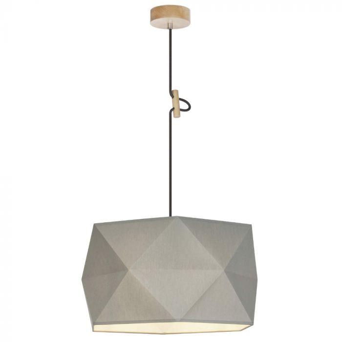 Brilliant Polygon 31970/63 hanglamp antraciet