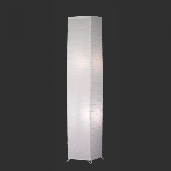 Trio Bamboo R40122001 vloerlamp wit