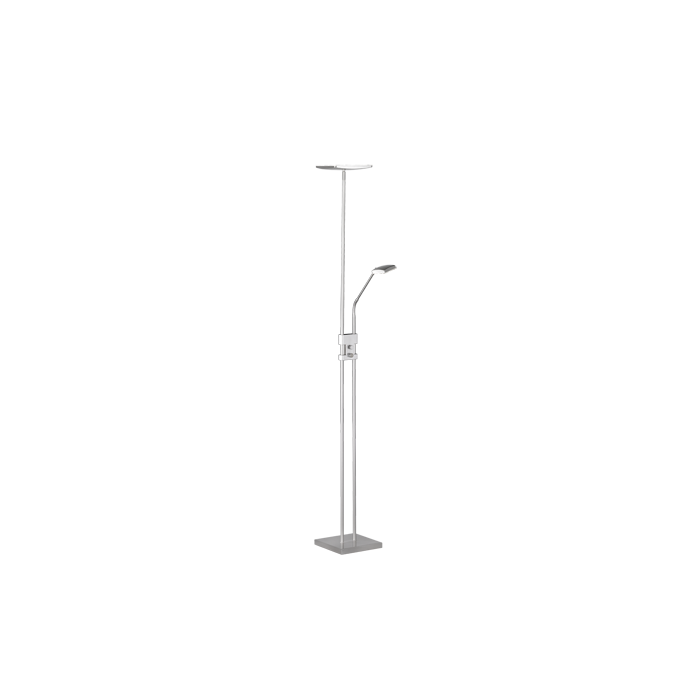 Trio Luke R42562107 uplighter staal