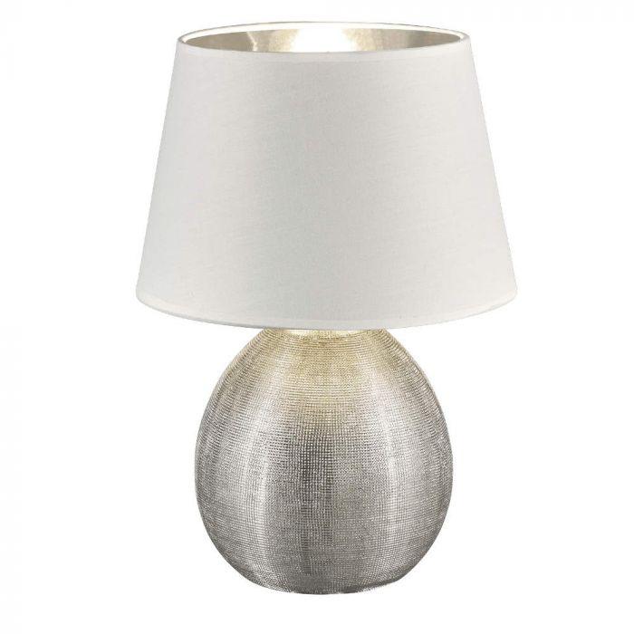 Trio Luxor R50631089 tafellamp zilver