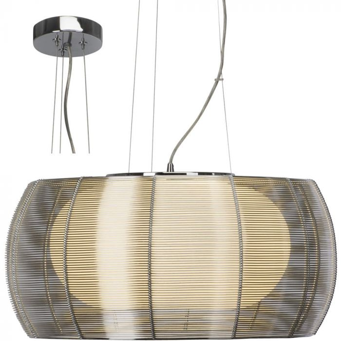 Brilliant Relax 61191/15 hanglamp chroom