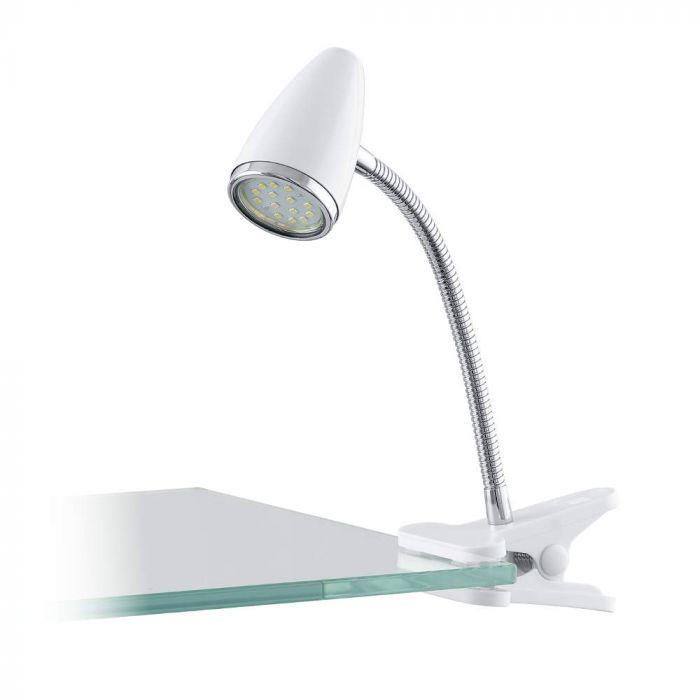 Eglo Riccio 1 LED klemspot 94329 wit