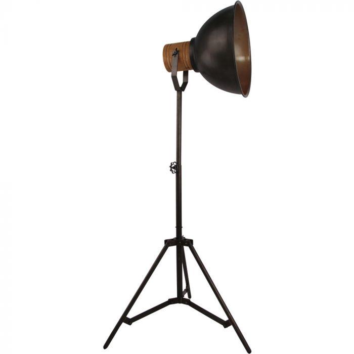 Freelight Veleno S5510Z vloerlamp zwart