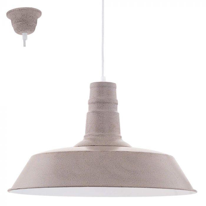 Eglo Somerton hanglamp 49399 taupe
