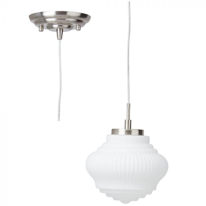 Brilliant Tanic 73270/13 hanglamp opaal