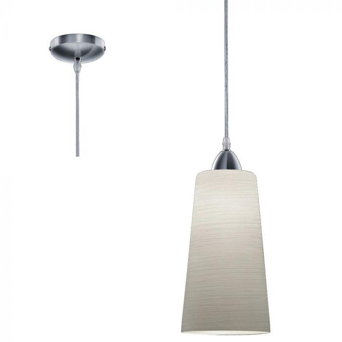 Trio Koni R30551011 hanglamp grijs