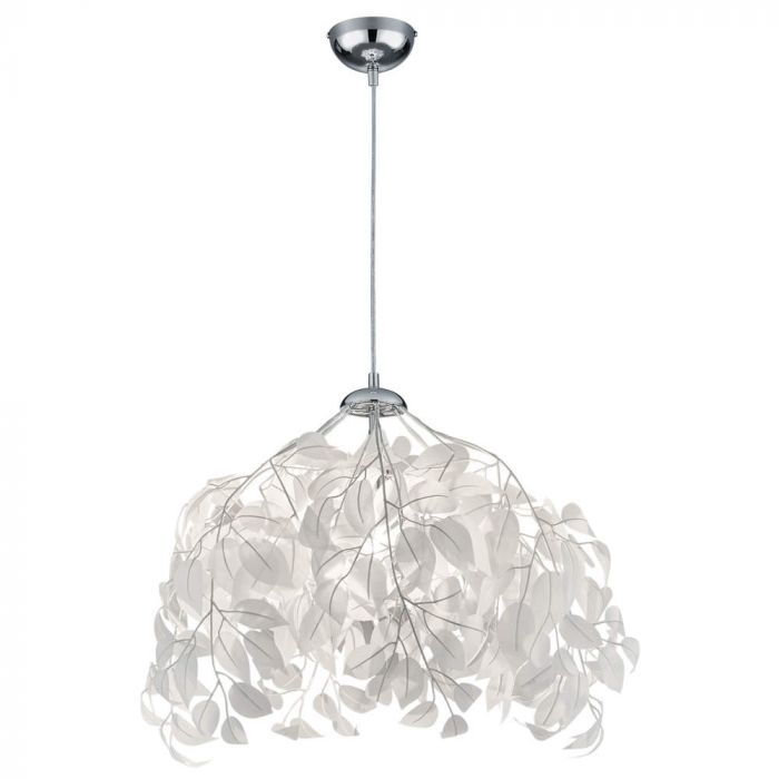 Trio Leavy R10461901 hanglamp wit