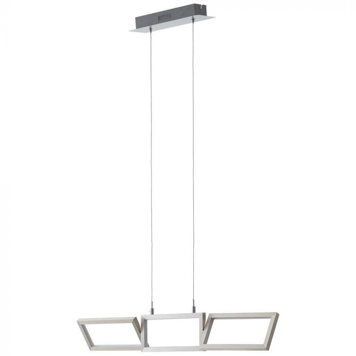 Brilliant Tunar G93450/21 hanglamp alu