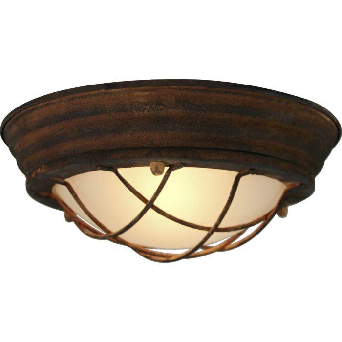 Brilliant Typhoon 94491/60 plafondlamp roest