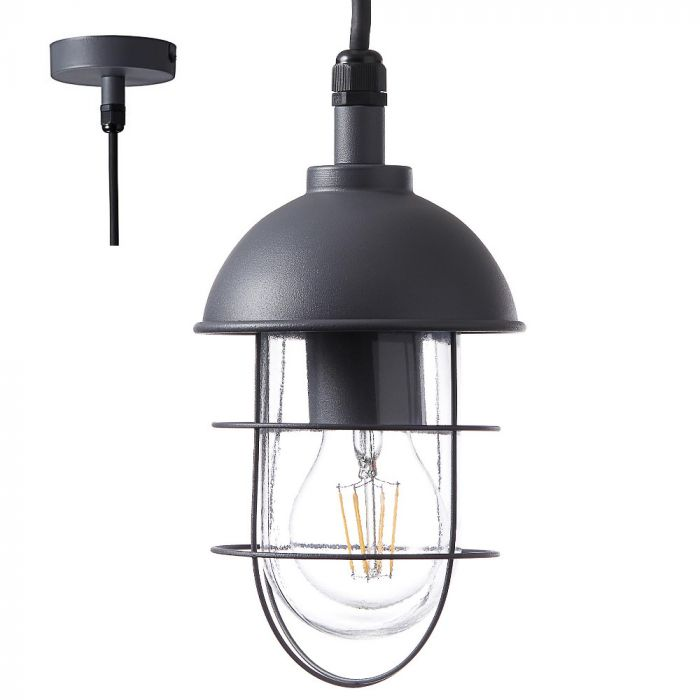 Brilliant Utsira 96349/63 hanglamp antraciet
