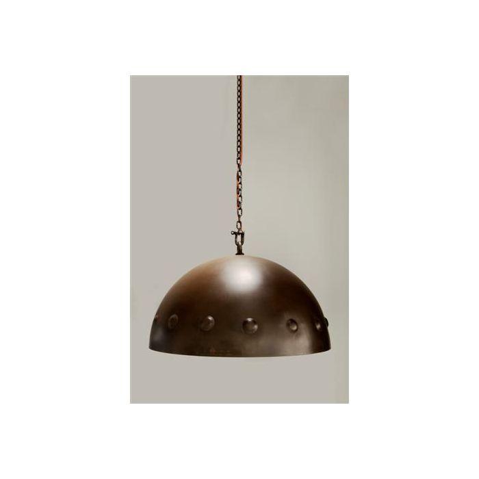 V.I.P. Carina Bugnata hanglamp 5216/RU01S roestkleurig