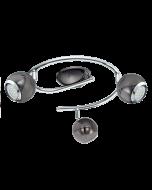 Eglo Bimeda  LED plafonnière 31007 nikkel