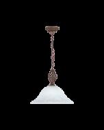 Trio hanglamp serie 6102 roestkleur