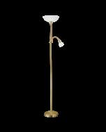 Eglo Up 2 vloerlamp Basic 82844 brons wit
