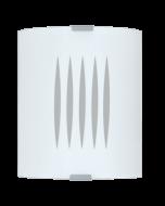 Eglo Grafik wandlamp Basic 83132 wit met strepen