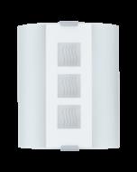 Eglo Grafik wandlamp Basic 83134 wit met golven