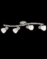 Eglo Dakar 1 Opbouwspot Basic 88474 nikkel