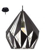 Eglo Carlton 49255 hanglamp zilver