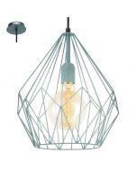 Eglo Carlton 49259 hanglamp mint