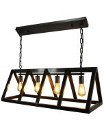 Brilliant Matrix 93760/46 hanglamp zwart
