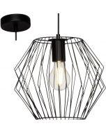 Brilliant Noris 54170/06 hanglamp zwart
