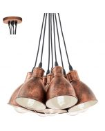 Eglo Priddy 49494 hanglamp koper