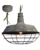 Brilliant Rope 93614/70 hanglamp beton