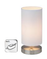 Brilliant Clarie 13247/05 tafellamp wit